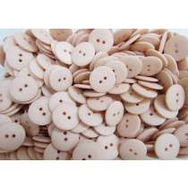 20mm Matte Peach Fashion Button FB191