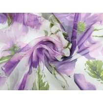 Garden Gala Silk Yoryu Chiffon #3379