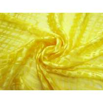 Sunny Side Check Silk Chiffon #3408