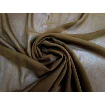 Silk Blend Georgette- Earth Brown #3421