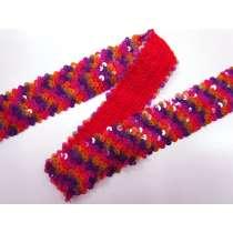Confetti 5 Row Stretch Sequin Trim #3453