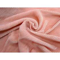 Party Pleat Knit- Peach Blush #3516