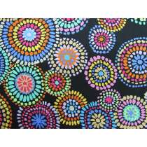 Kaffe Fassett Mosaic Circles- Black
