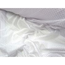 Basketball Mesh- White