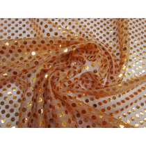 6mm American Sequins- Orange