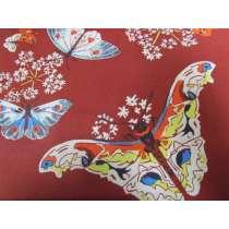 Amy Butler- Queen Ann's Butterflies- Ruby