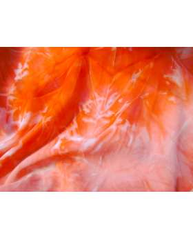 Tie Dye Chiffon- Red