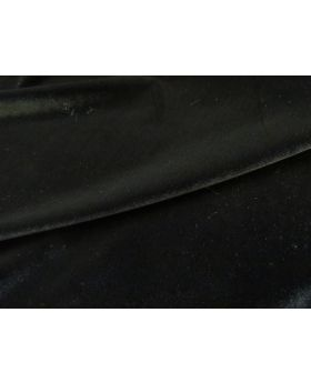 2way Stretch Velvet- Black