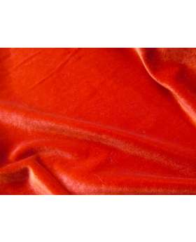 2way Stretch Velvet- Red