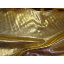 Liquid Foile Lycra- Gold