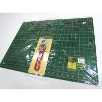 Cutting Mat & 45mm Rotary Cutter