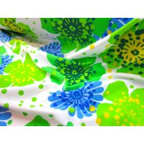 Havaiana Floral Lycra- Blue/Green