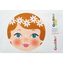 Ooshka Face Panel- Daisies in Hair
