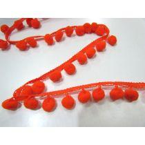 Pom Poms- Orange