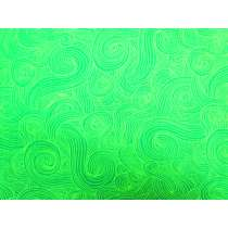 Just Colours- Green Swirls