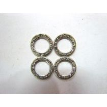 6 x Small Diamonte Rings- RW133