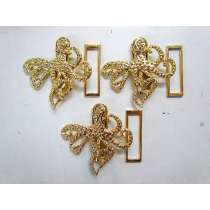 Gold Octopus Clasps- RW146