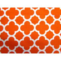 Quatrefoil Basics- Orange
