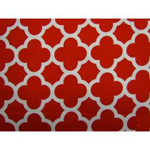 Quatrefoil Basics- Red