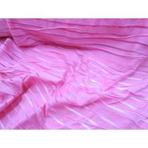 Pink Sheer Stripe 2way Stretch Lycra