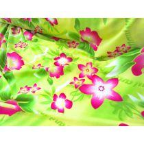 Maui Floral Lycra Jersey