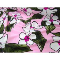 Phuket Floral Lycra- Pink