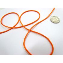 Rat Tail Ribbon- Orange