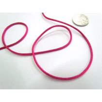 Rat Tail Ribbon- Fuchsia