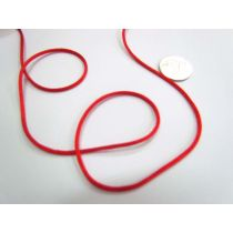Rat Tail Ribbon- Red