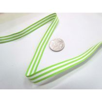 Candy Cane 10mm- Wasabi / White