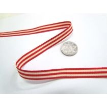 Candy Cane 10mm- Red / White
