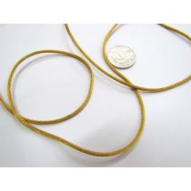 Rat Tail Ribbon- Brass