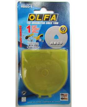 Olfa Rotary Cutter Blades- 60mm