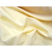 Smooth Stripe Cheesecloth- Banana