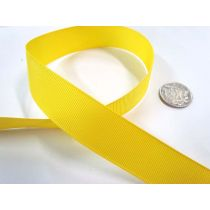 Grosgrain Ribbon 22mm- Yellow