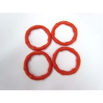 7cm Red Swimwear Rings- bag of 20