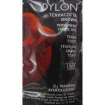 Dylon 50g- Terracotta Brown