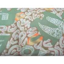 Japanese Warrior Cotton- Olive