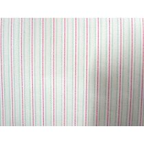 A Day In The Country- Ribbon Stripe- Green/Red on Cream