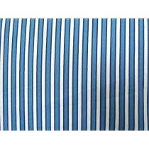 A Day In The Country- Ticking Stripe- Blue