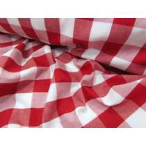 Superior Quality Red Gingham