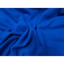 Wide Cotton Spandex- Cobalt