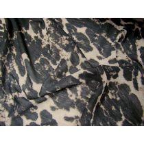 Fine Mesh Jersey- Leopard