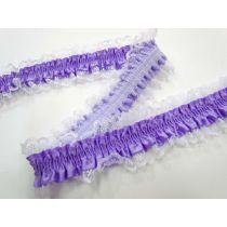 Garter Elastic- Lilac