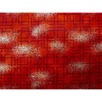 Asian Traditions - Red Squares