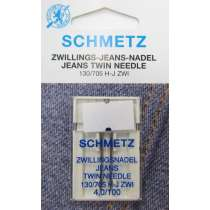 Schmetz Jeans Twin Needle 4,0/100