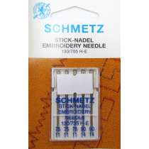 Schmetz Embroidery Needles- Multi