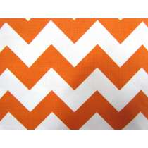 Medium Chevron- Orange