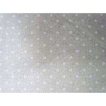 Linen Mochi Dots- Sand