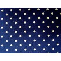 Linen Mochi Dots- Navy